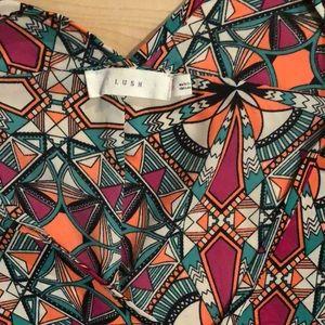 Lush Tops - EUC LUSH Medium Tunic Style Top